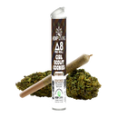 Hemp Living - Delta 8 Flower 1g Pre-Roll - Girl Scout Cookies High Potency Kief Infused (MSRP $11.95) - Lot of 10