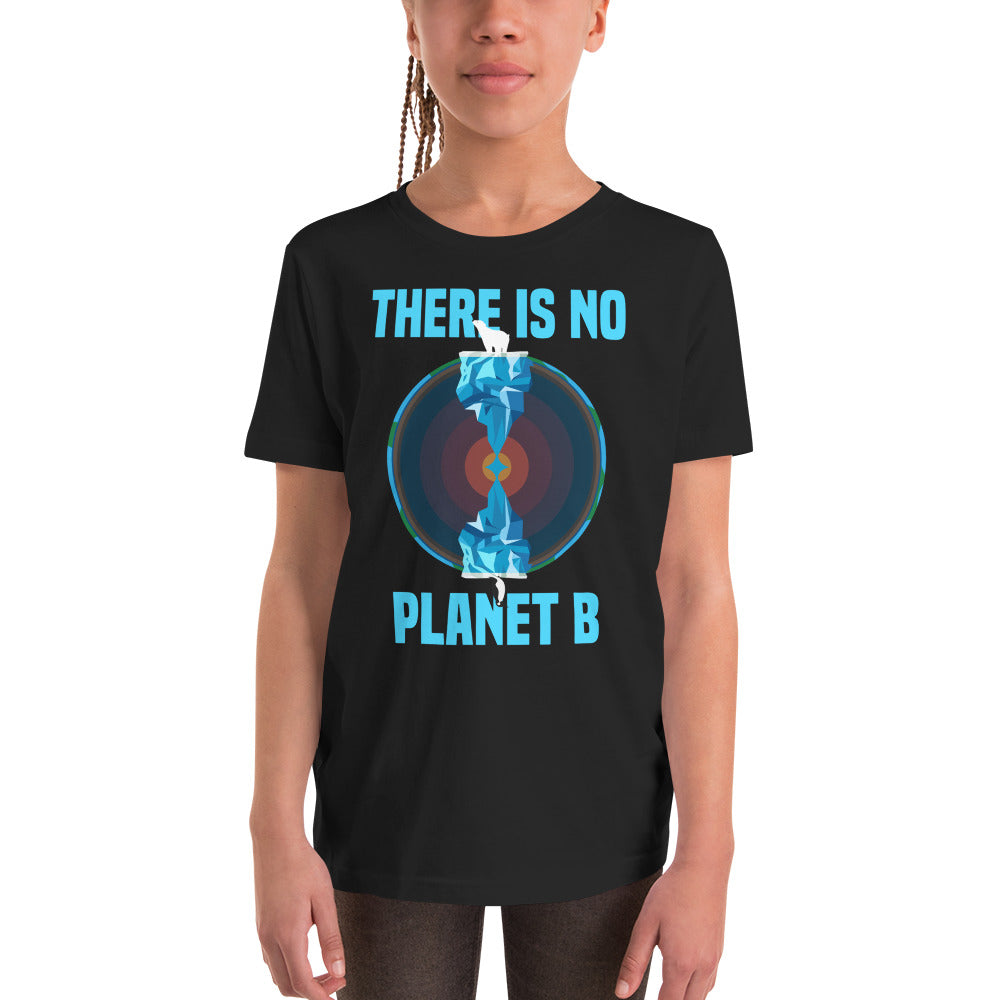 There is no planet B North and South - Youth Short Sleeve T-Shirt