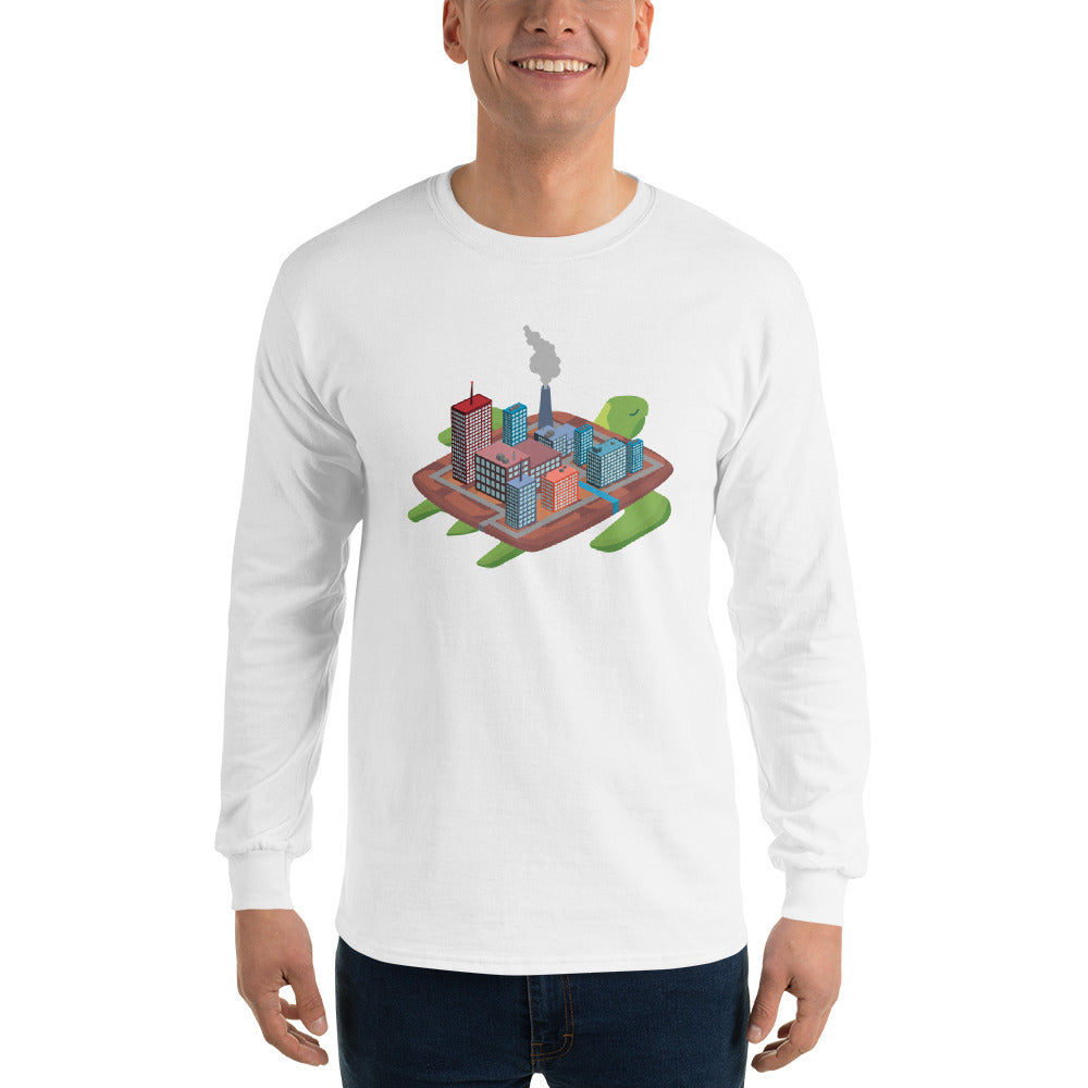Factory Turtle Island - Long Sleeve T-Shirt
