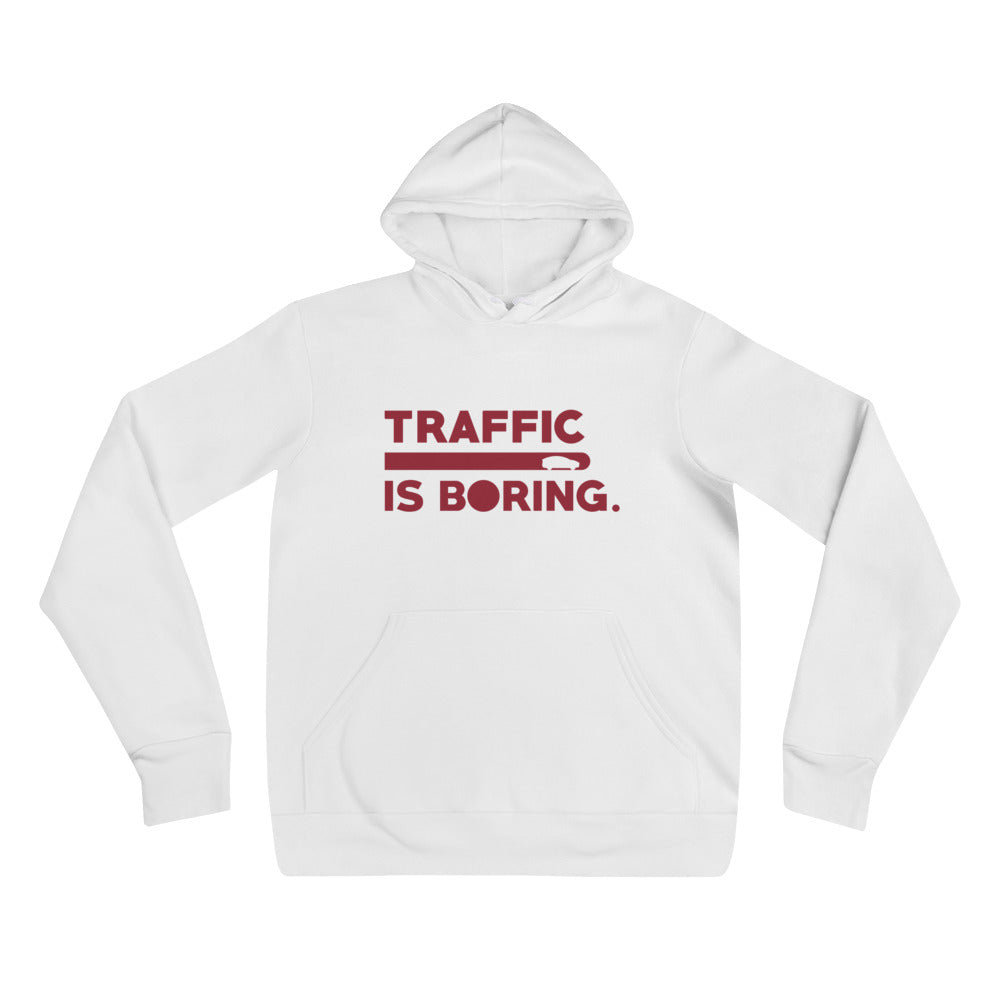 Traffic is Boring - Model X - Unisex hoodie