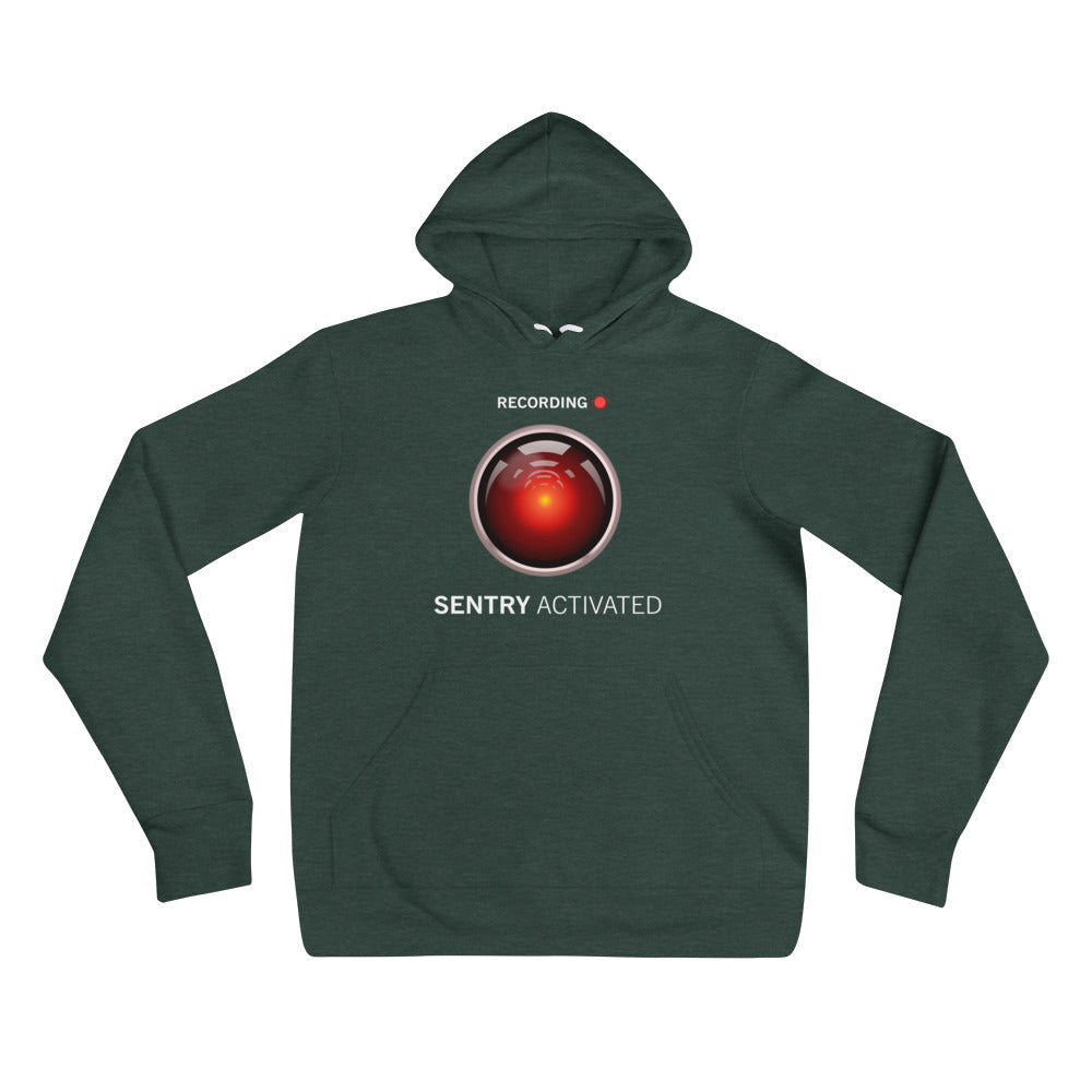 Sentry Mode Activated! - Unisex hoodie