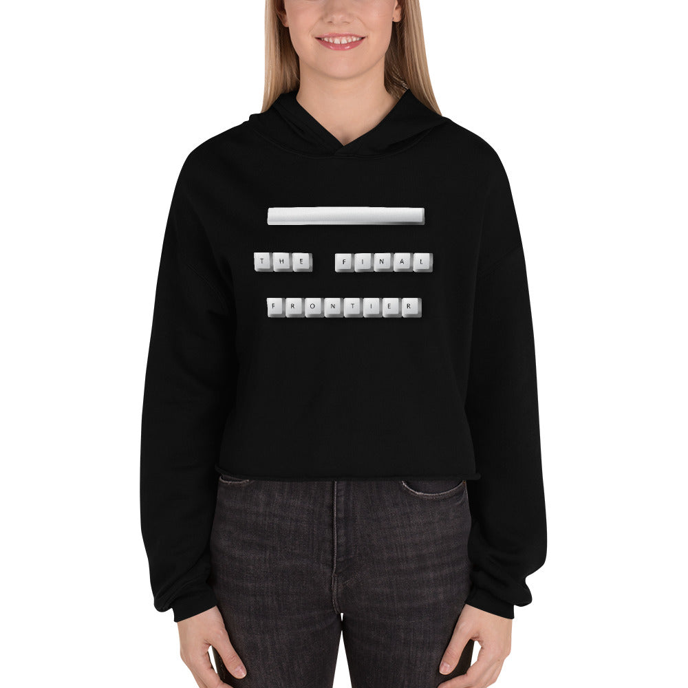 Space the Final Frontier - Crop Hoodie