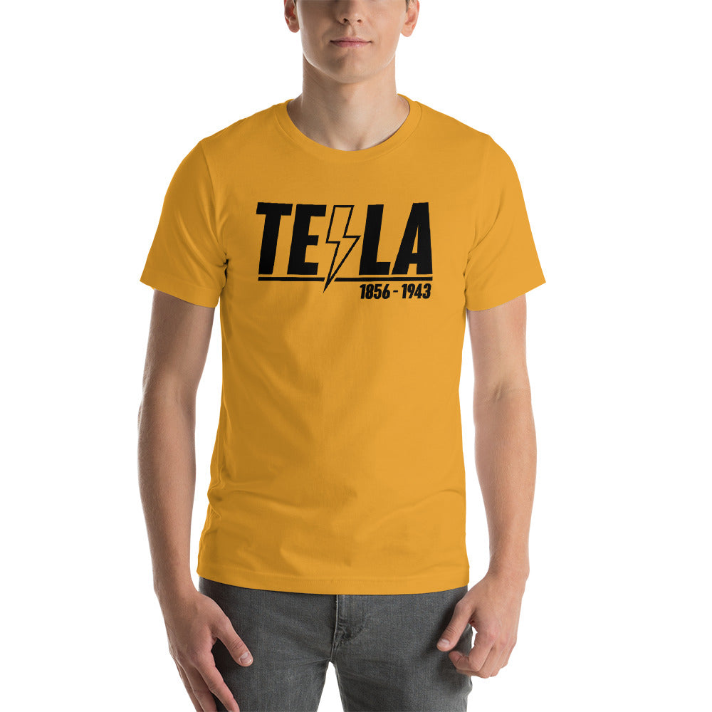 TEϟLA 1856 - 1943  - Short-Sleeve Unisex T-Shirt