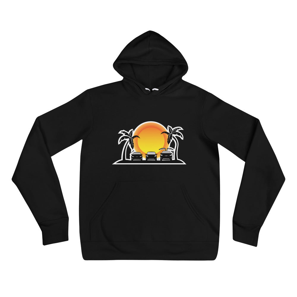 S3X on the Beach Sun - Unisex hoodie
