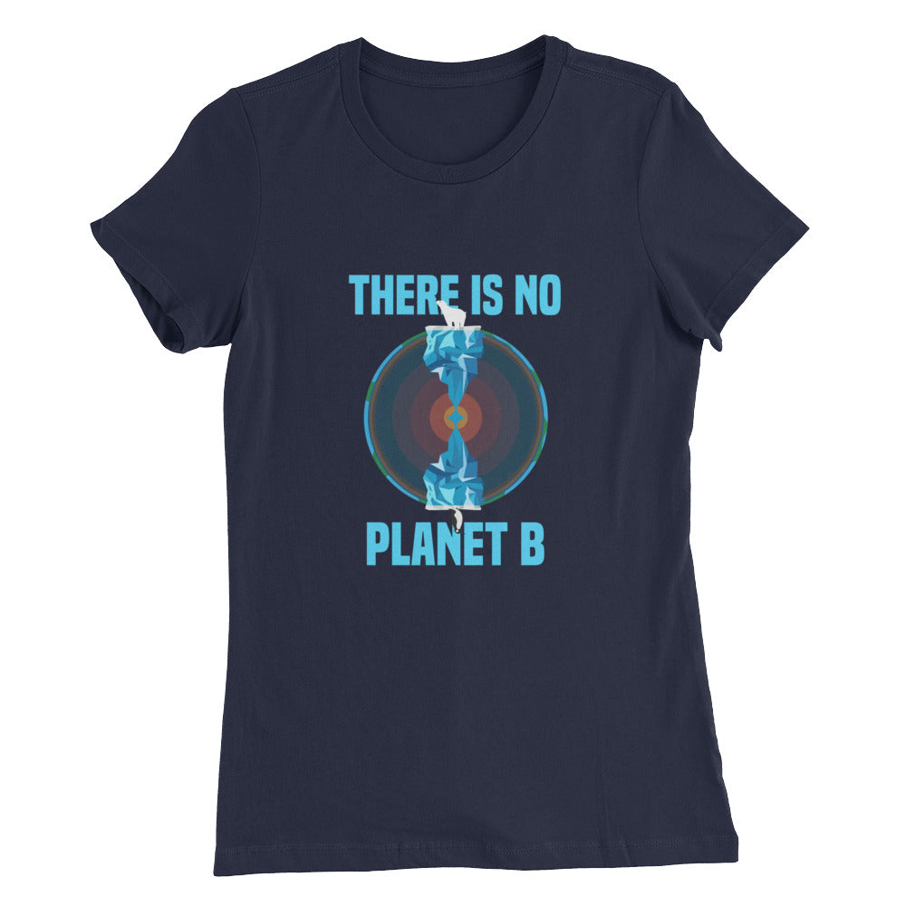 There is no planet B North and South - Women's Slim Fit T-Shirt