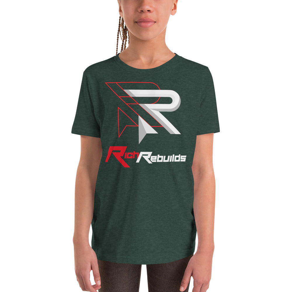 Rich Rebuilds - Youth Short Sleeve T-Shirt