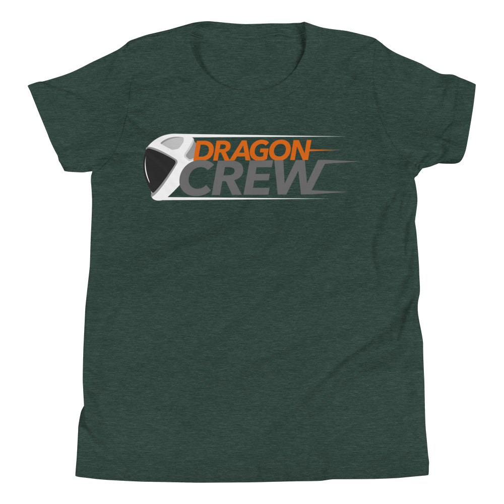 Dragon Crew Design - Youth Short Sleeve T-Shirt