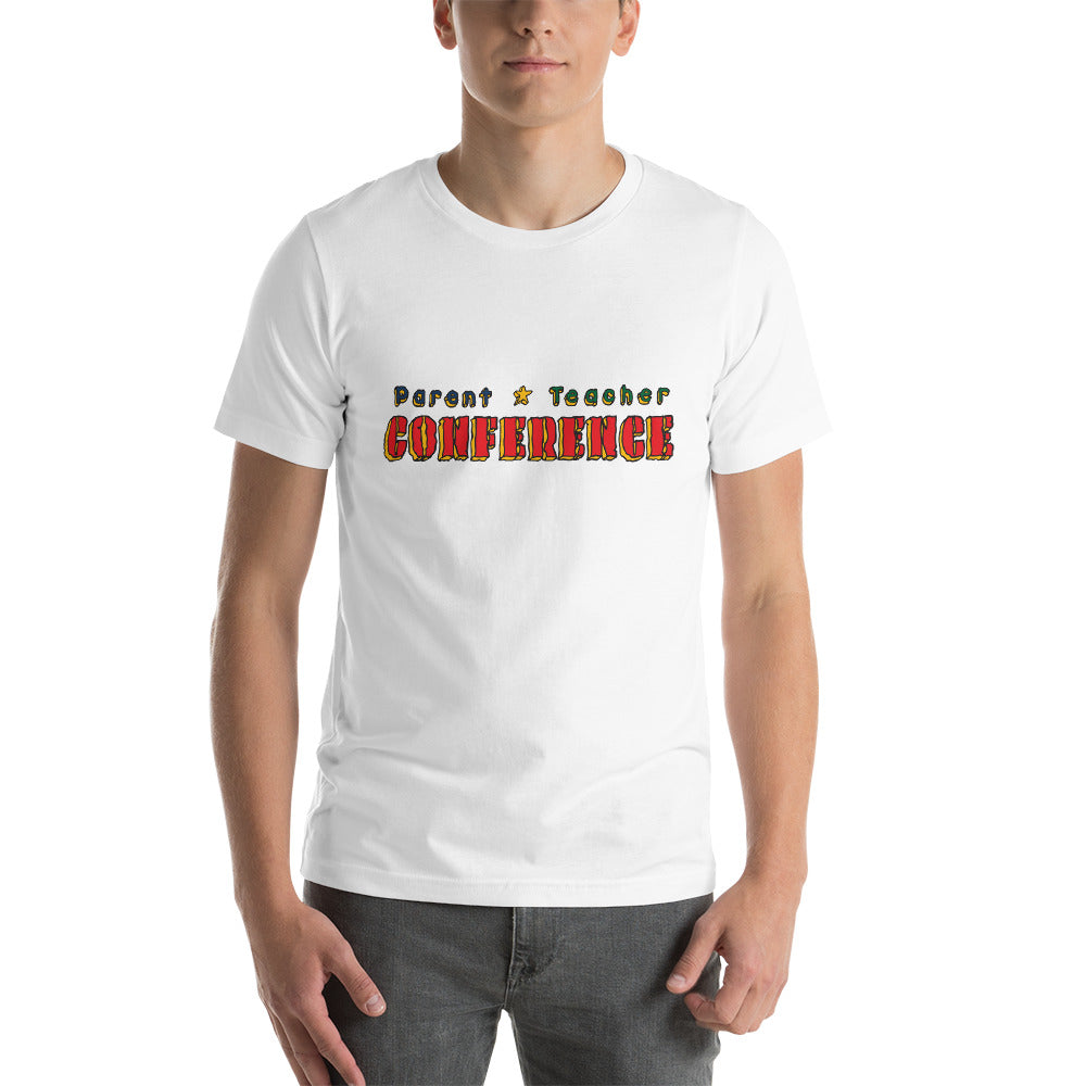 Parent Teacher Conference | Zack & Aaron | Short-Sleeve Unisex T-Shirt