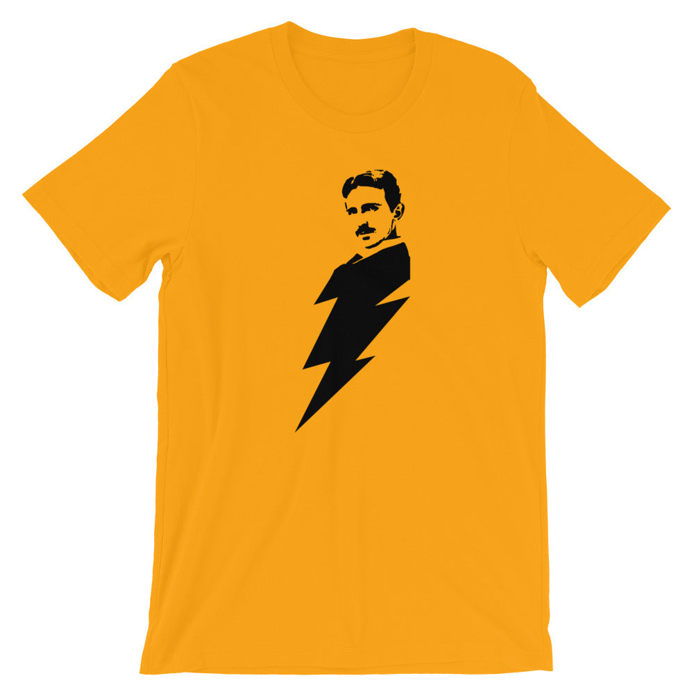 Nikola Lightning Bolt  - Short-Sleeve Unisex T-Shirt