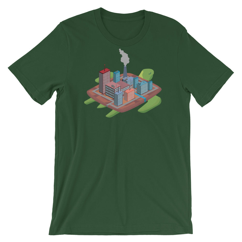 Factory Turtle Island - Short-Sleeve Unisex T-Shirt