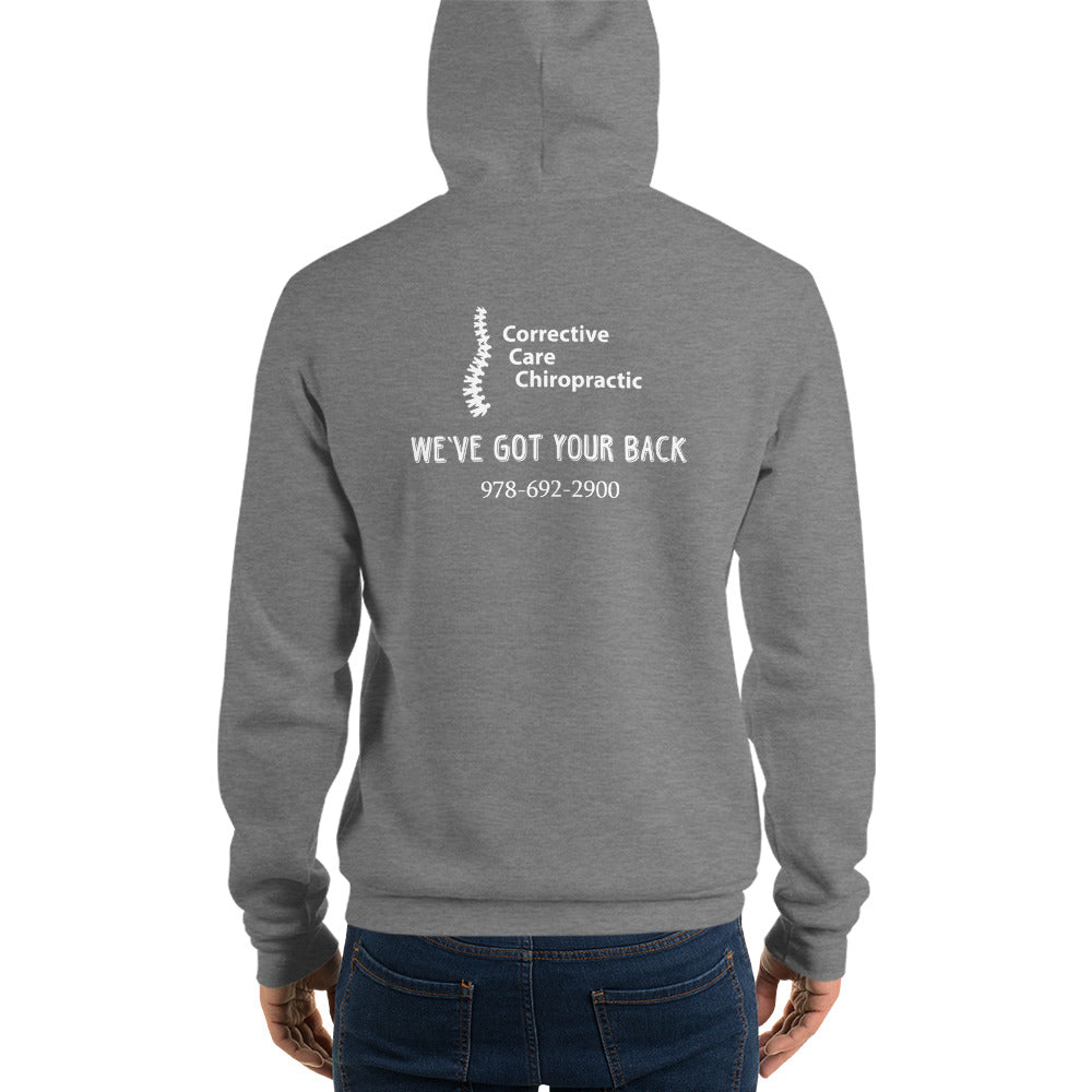 CORRECTIVE CARE CHIROPRACTIC - WE'VE GOT YOUR BACK - Unisex hoodie
