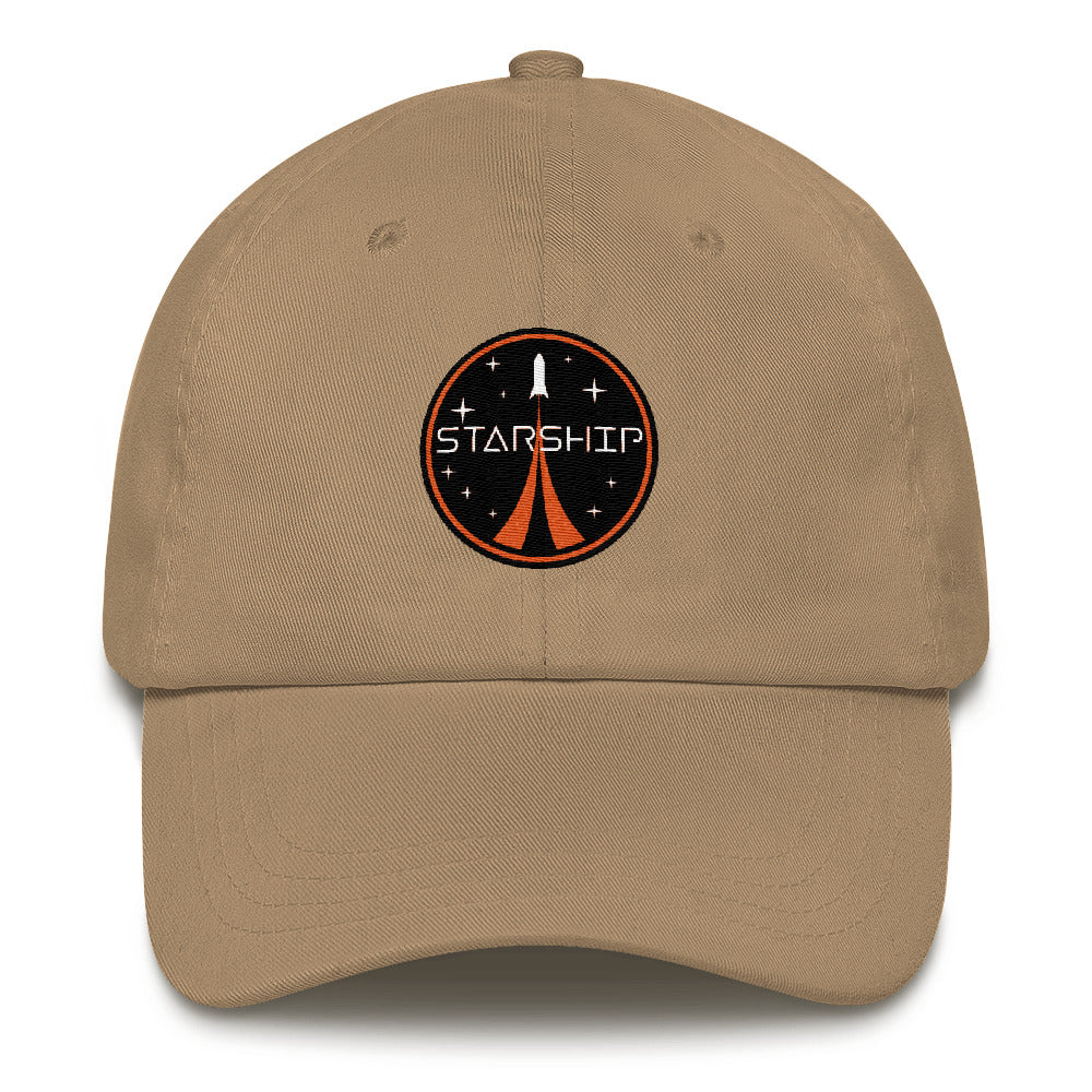Starship Patch Design - Dad hat