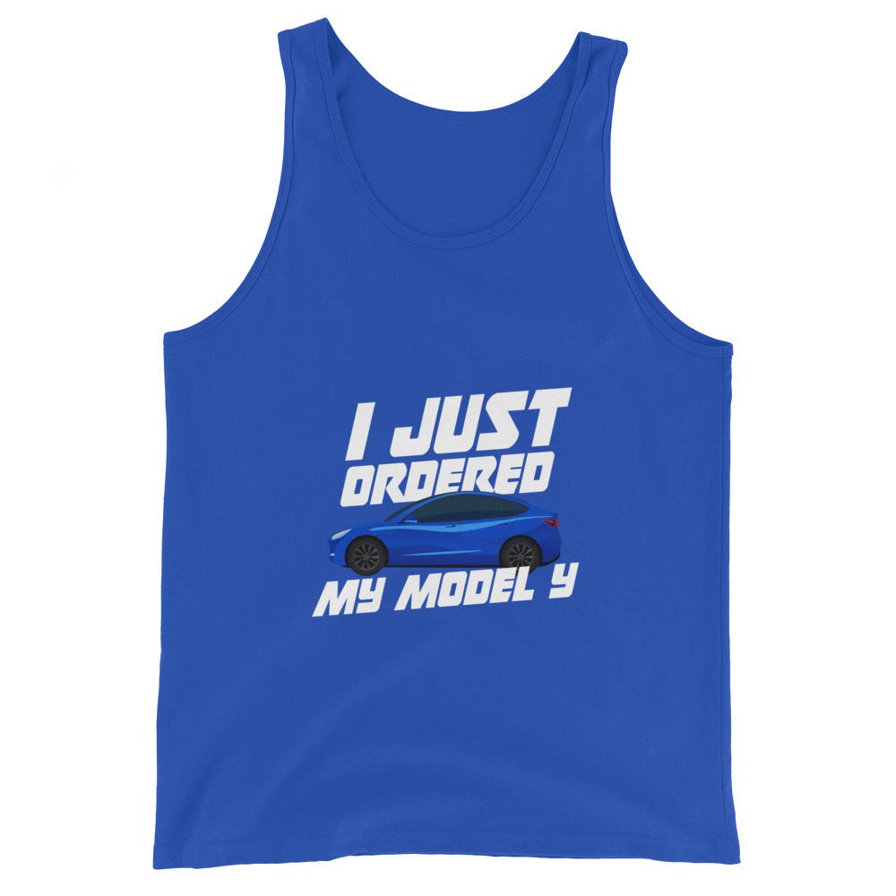 I just ordered a MODEL Y - Unisex  Tank Top
