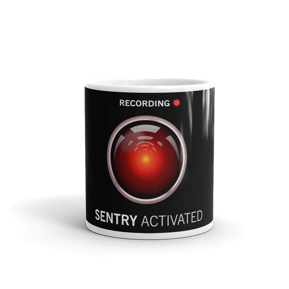 Sentry Mode Activated! - Mug