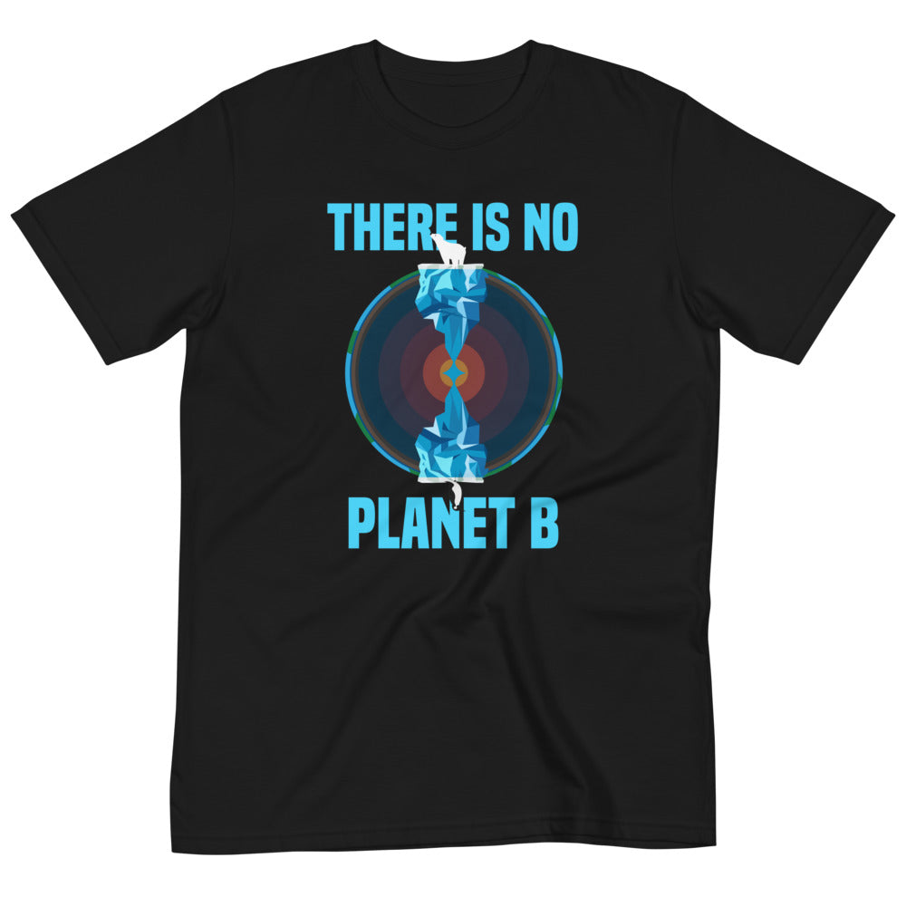 There is no planet B North and South - Organic T-Shirt
