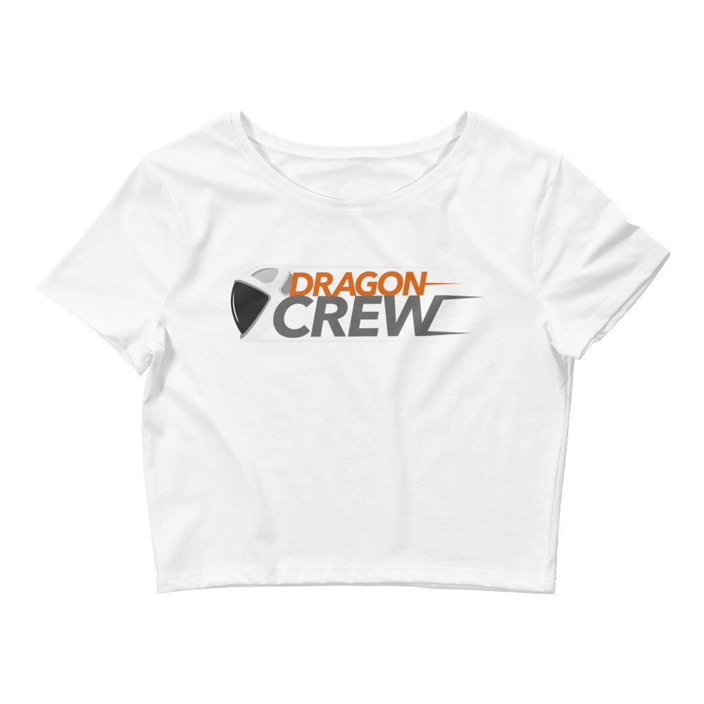 Dragon Crew Design - Women's Crop Tee