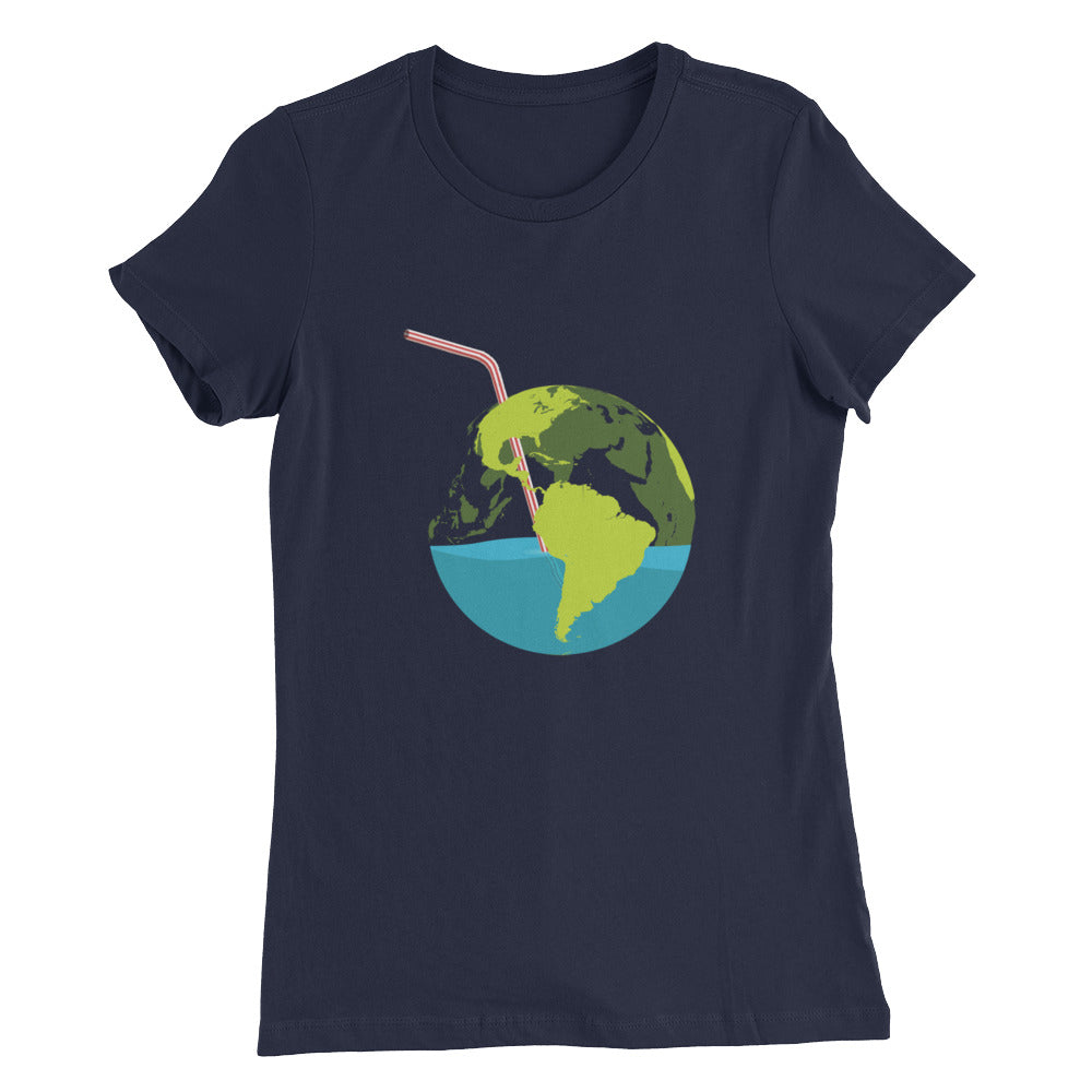 Sip of Earth - Women's Slim Fit T-Shirt