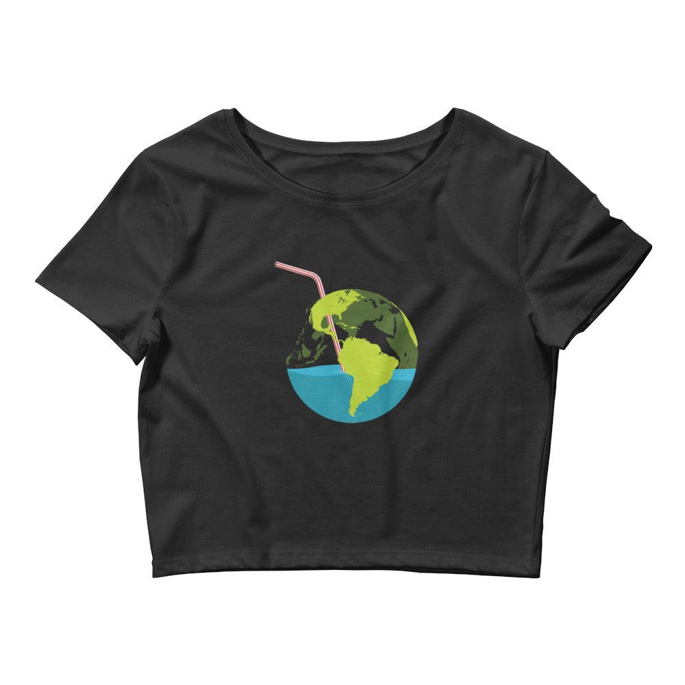 Sip of Earth - Women's Crop Tee
