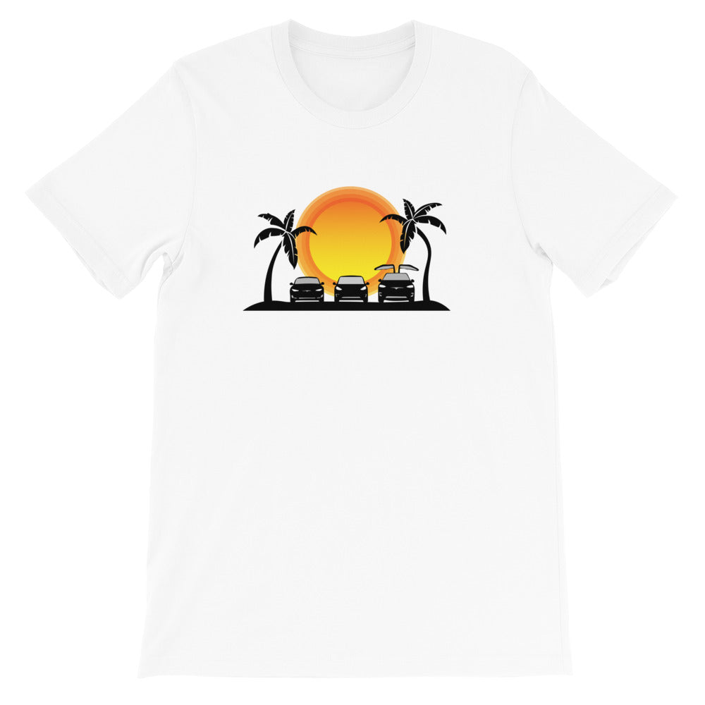 S3X on the Beach Sun - Short-Sleeve Unisex T-Shirt