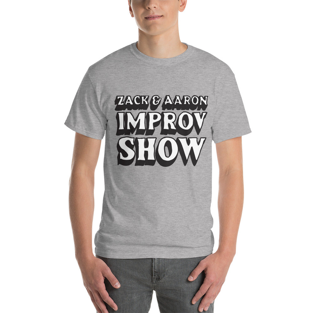 Z&A Improv Show WB | Zack & Aaron | Short Sleeve T-Shirt