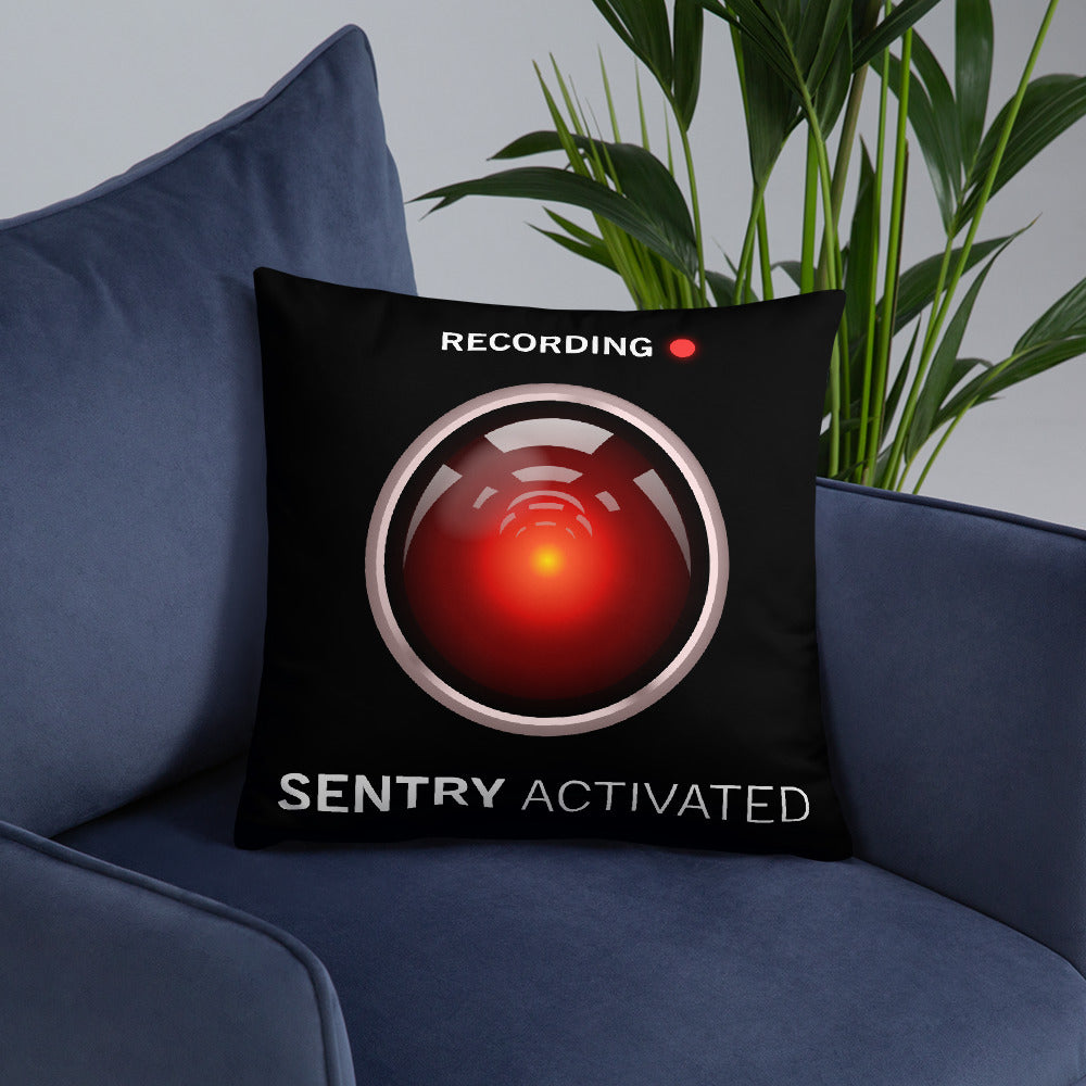 Sentry Mode Activated! - Basic Pillow