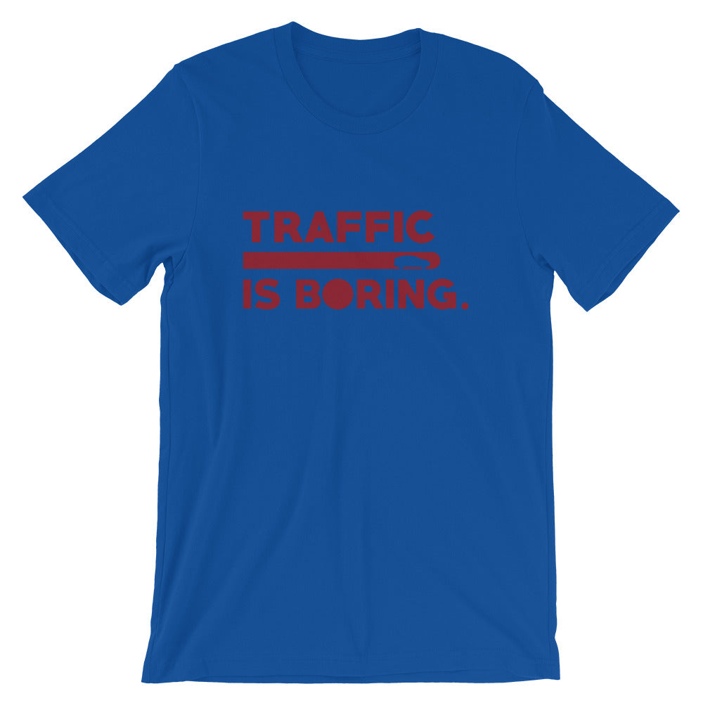 Traffic is Boring - Model X  - Short-Sleeve Unisex T-Shirt