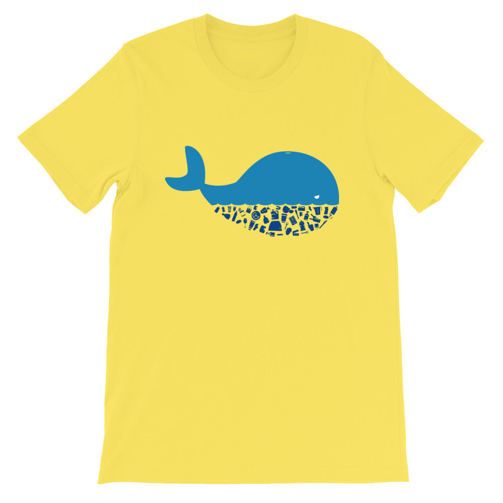 Plastic Diet - Whale - Short-Sleeve Unisex T-Shirt