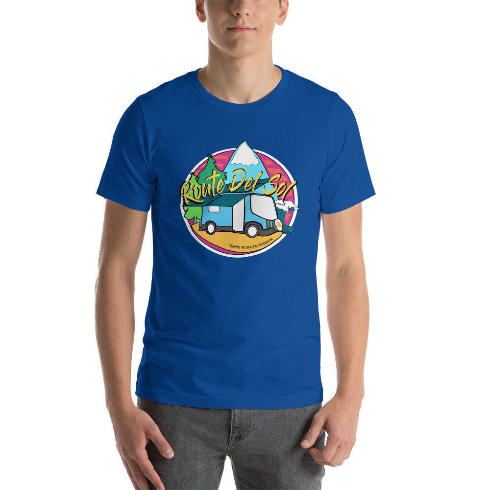 Route Del Sol - Short-Sleeve Unisex T-Shirt