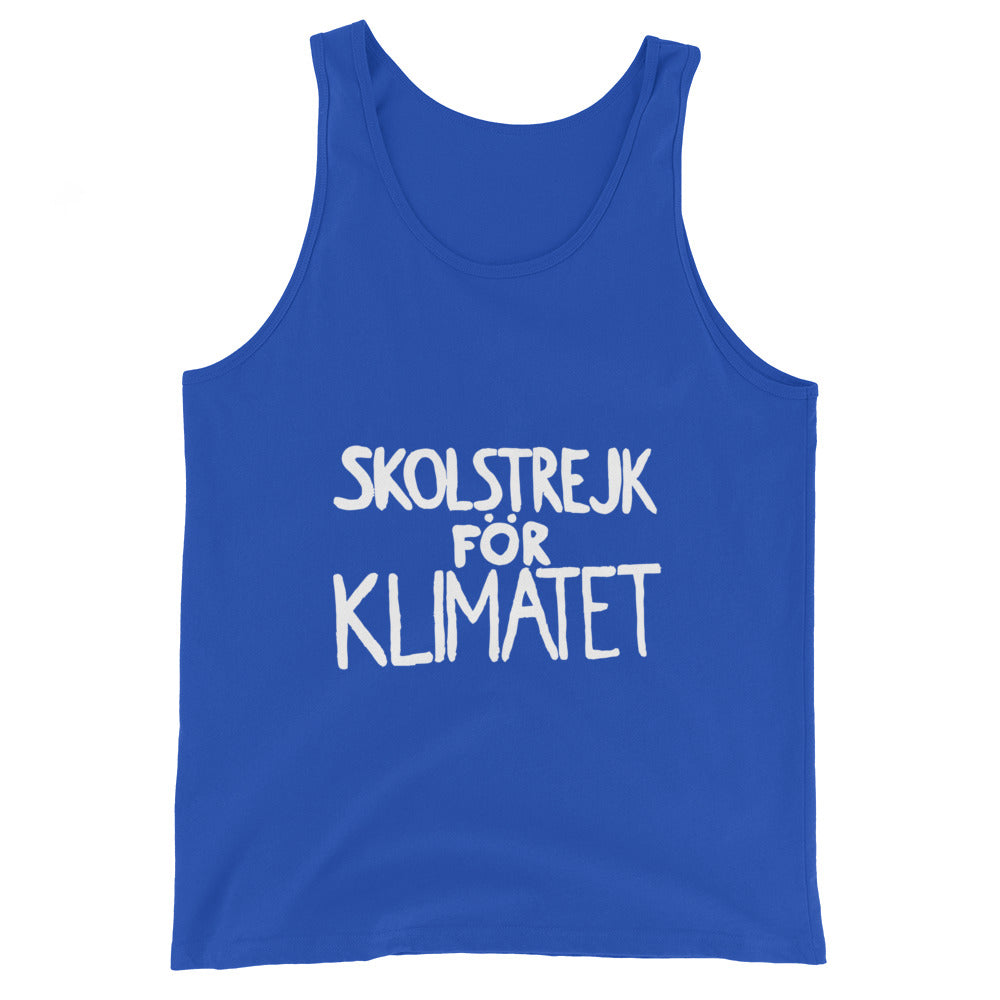 School Strike for Climate - Unisex  Tank Top