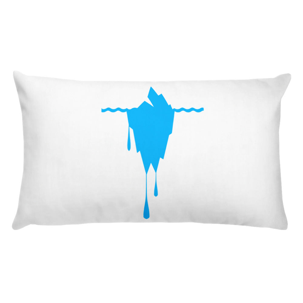 Melting Iceberg -Basic Pillow