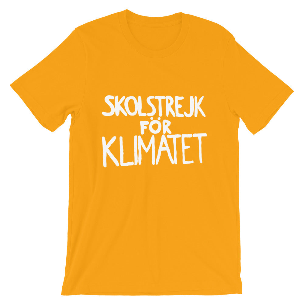 School Strike for Climate - Short-Sleeve Unisex T-Shirt
