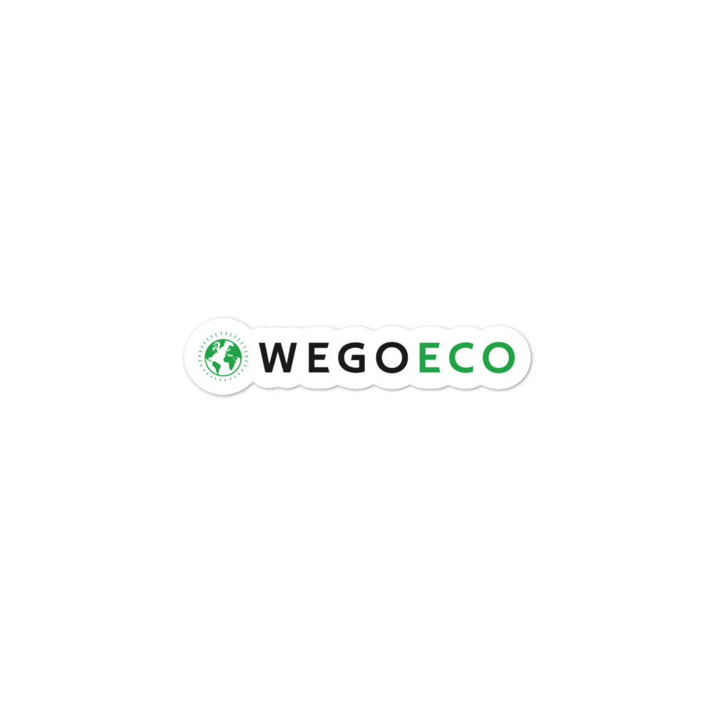 wegoeco sticker