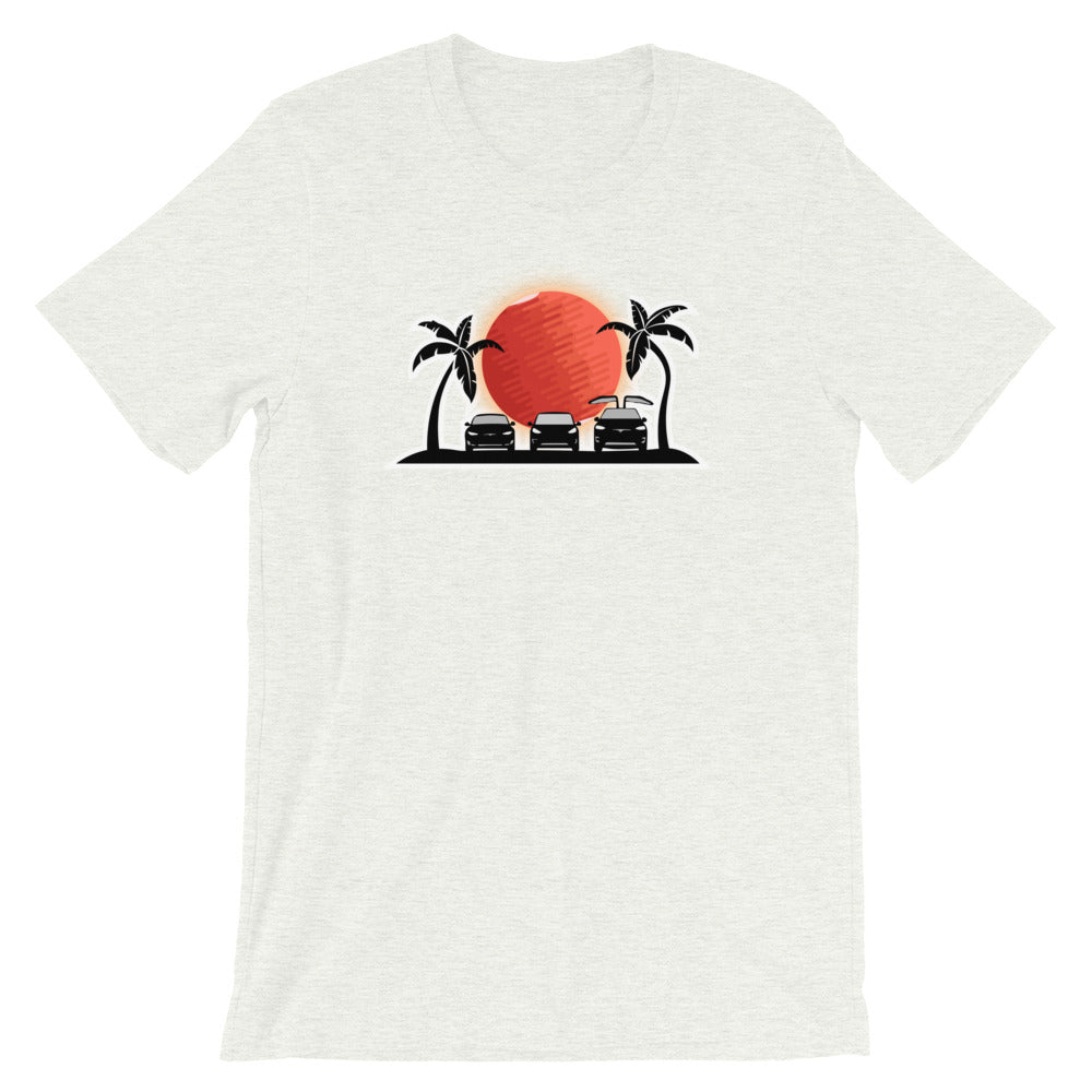 S3X on the Beach Mars - Short-Sleeve Unisex T-Shirt