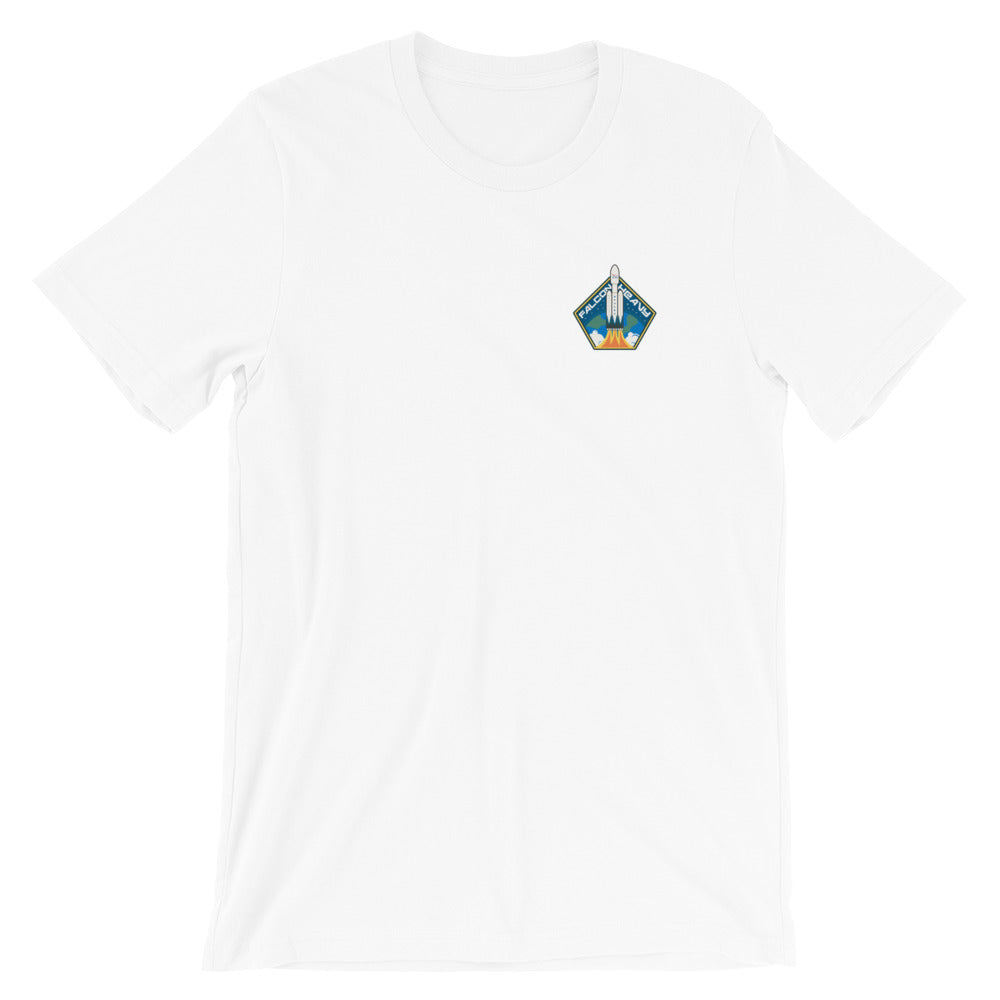 Falcon Heavy Badge - Short-Sleeve Unisex T-Shirt