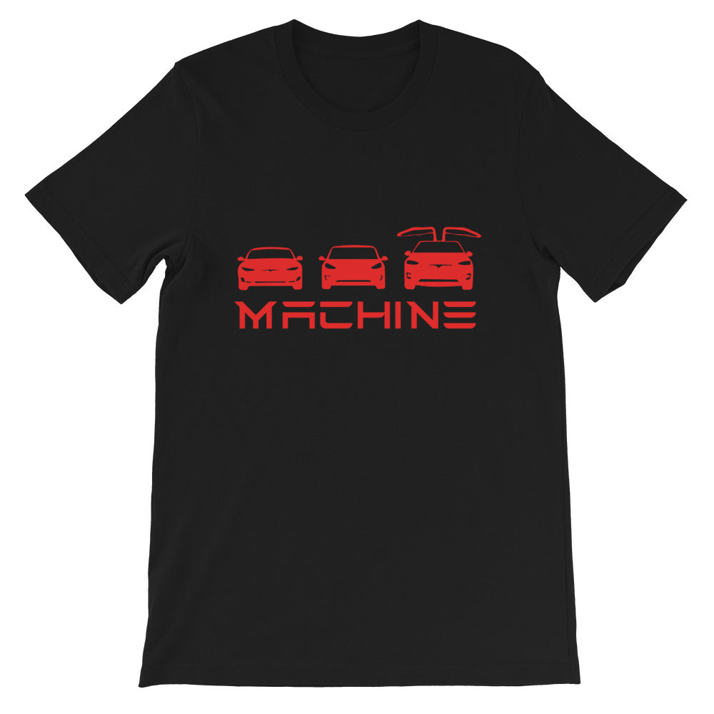 S 3 X Machine - Short-Sleeve Unisex T-Shirt