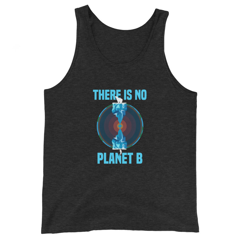 There is no planet B North and South - Unisex  Tank Top