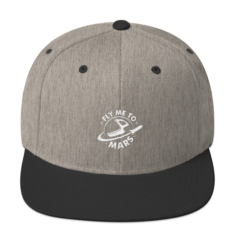 Fly Me To Mars - Snapback Hat
