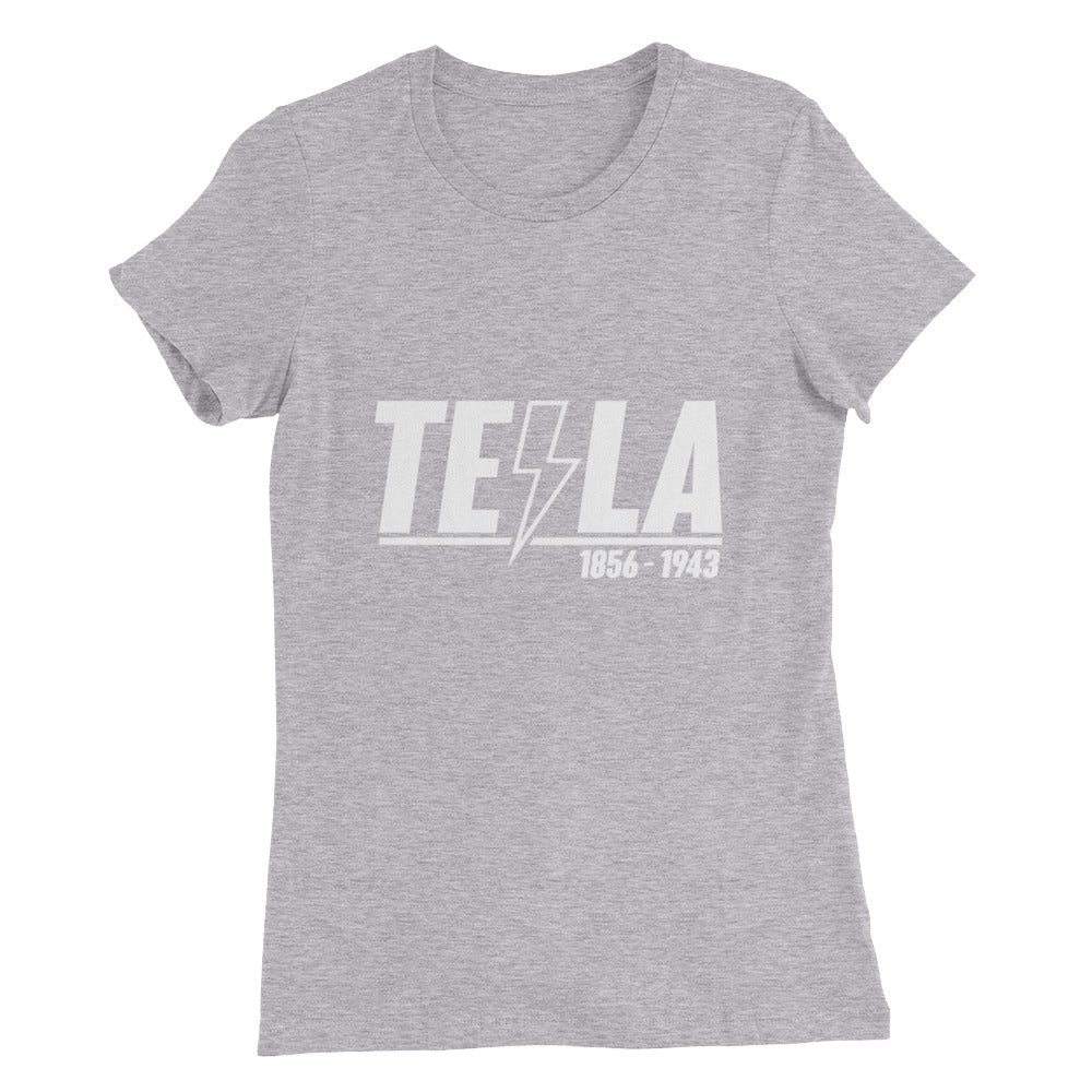 TEϟLA 1856 - 1943 - Women's Slim Fit T-Shirt