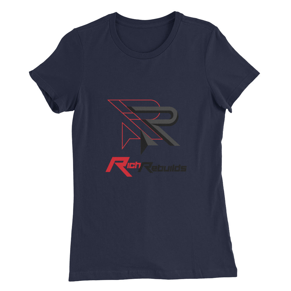 Rich Rebuilds - Women's Slim Fit T-Shirt