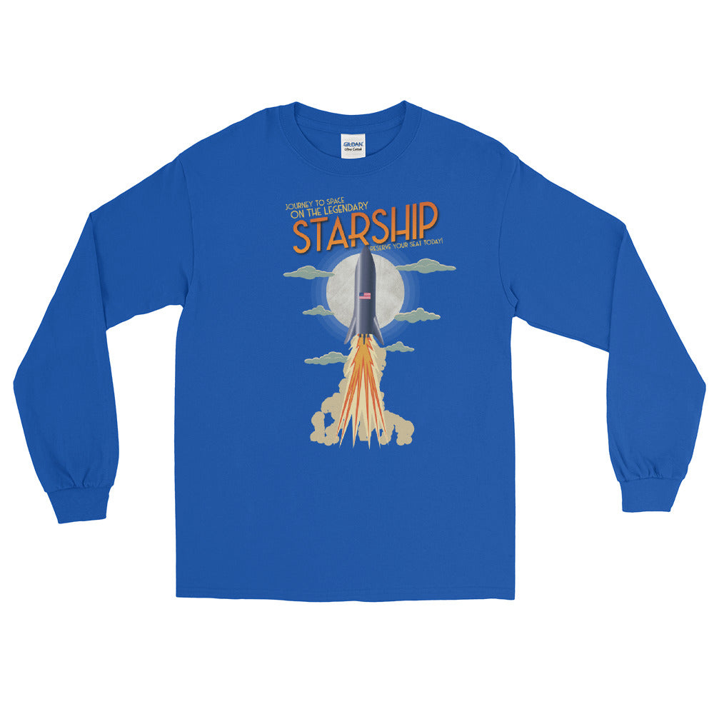 Vintage Starship - Long Sleeve T-Shirt