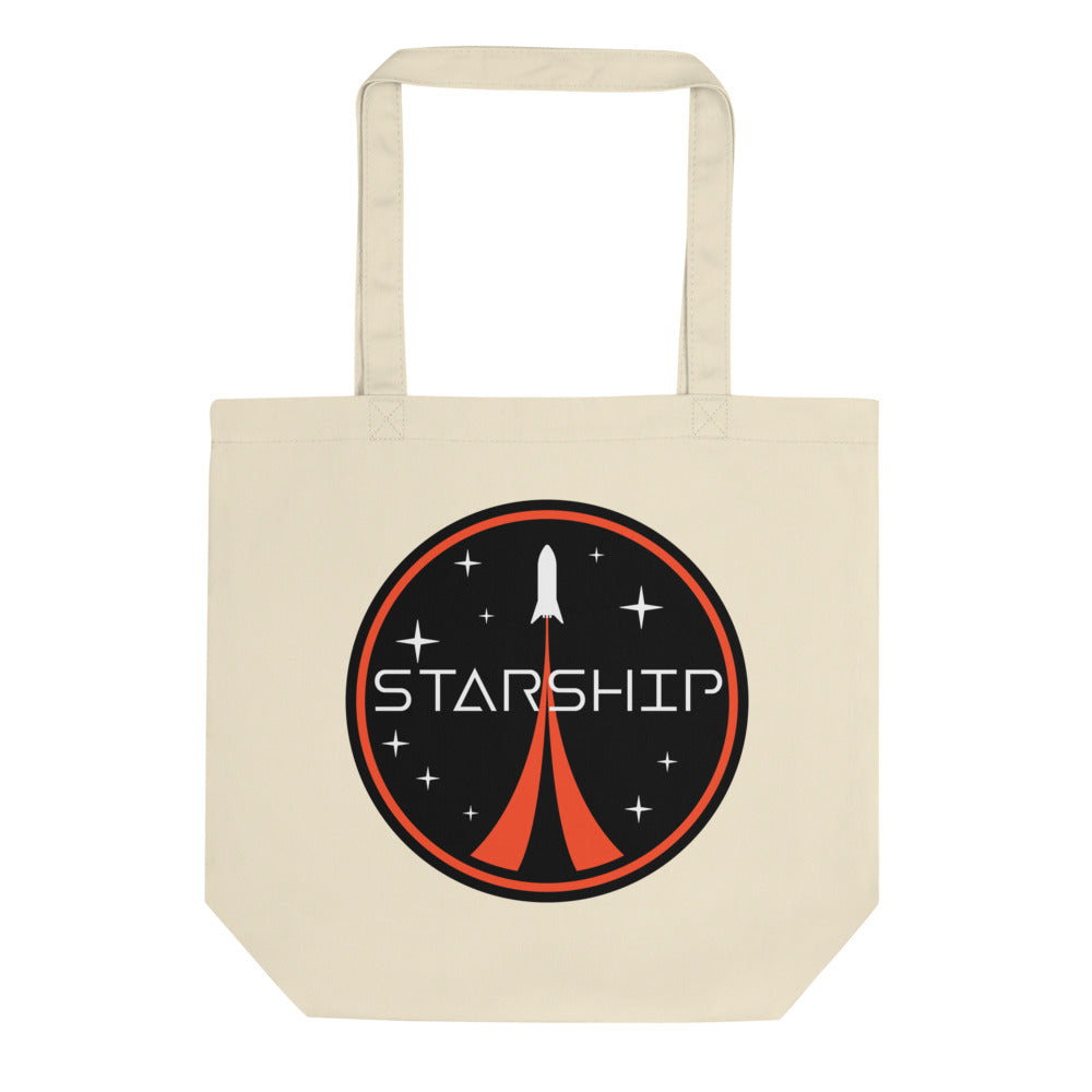 Starship Patch Design - Eco Tote Bag