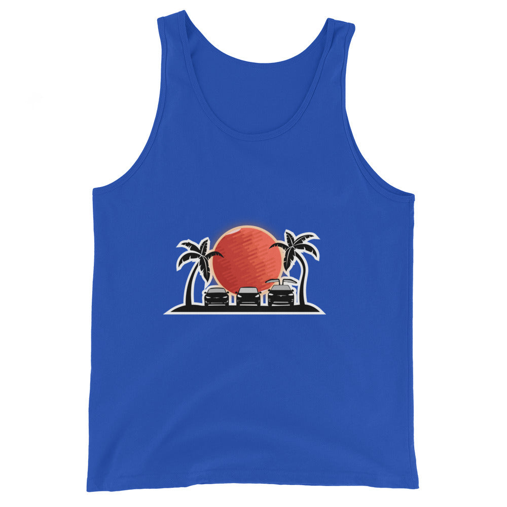 S3X on the Beach Mars - Unisex  Tank Top