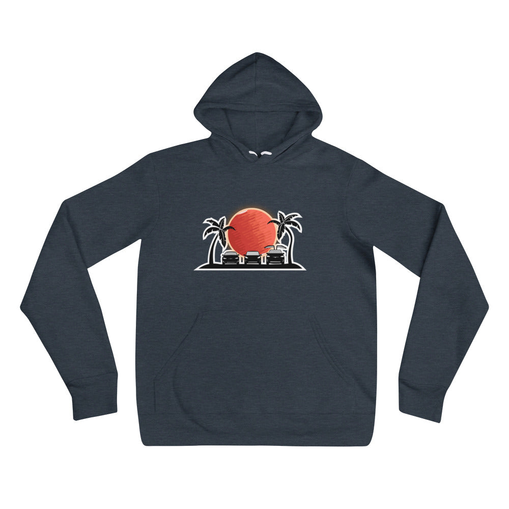 S3X on the Beach Mars - Unisex hoodie