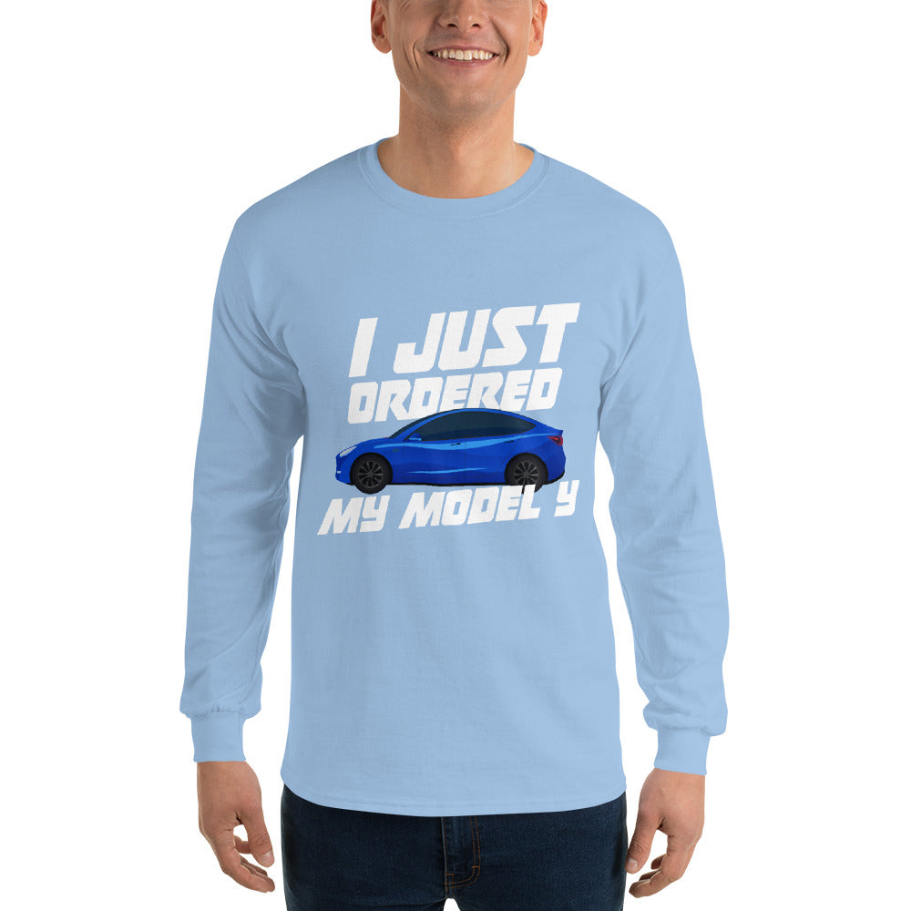 I just ordered a MODEL Y - Long Sleeve T-Shirt