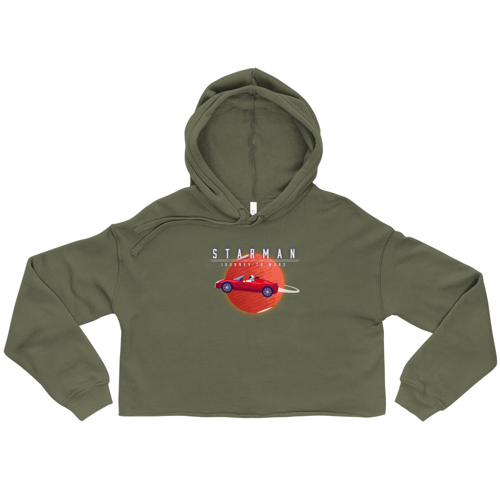 Starman - Journey to Mars - Crop Hoodie