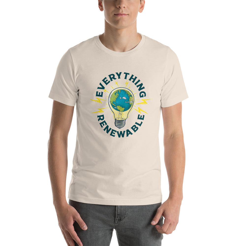 Everything Renewable - Short-Sleeve Unisex T-Shirt
