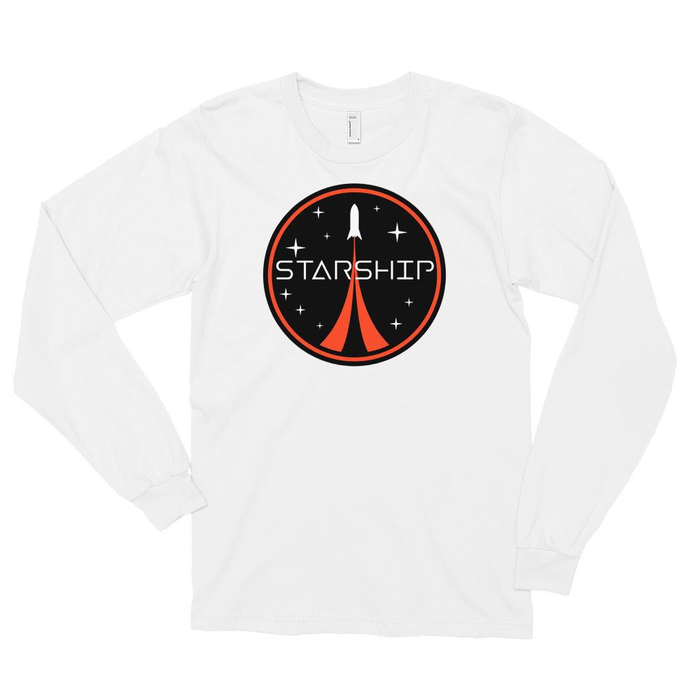 Starship Patch Design - Long sleeve t-shirt