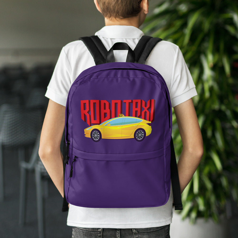 Robo Taxi - Backpack