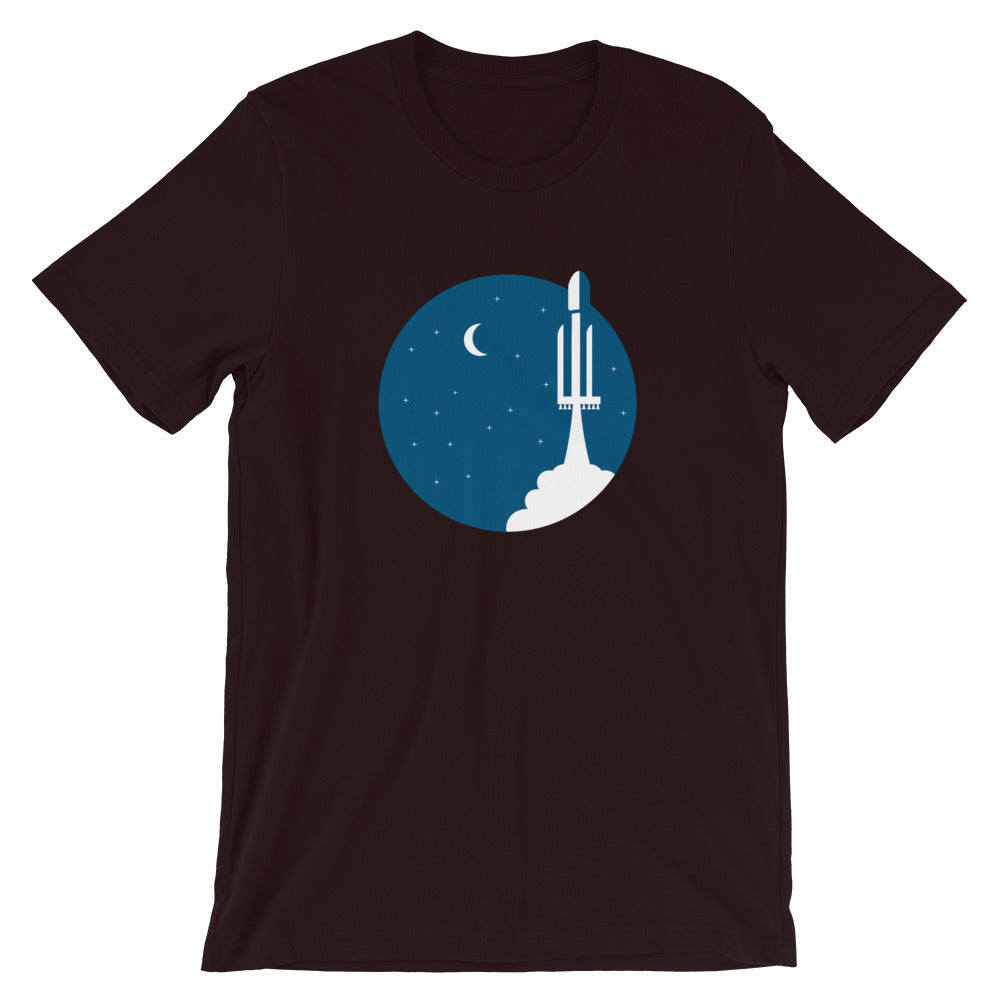 Falcon Heavy Reaches Orbit - Short-Sleeve Unisex T-Shirt