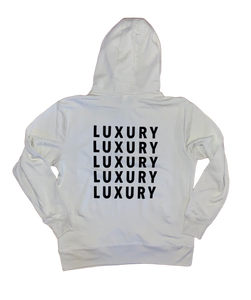 Classic Luxury French Terry Hoodie (MEN'S) - W by Crystal White